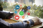 Social media beeld